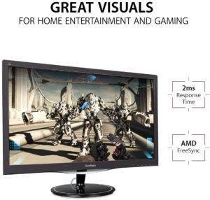 ViewSonic VX2457-MHD Gaming Monitor