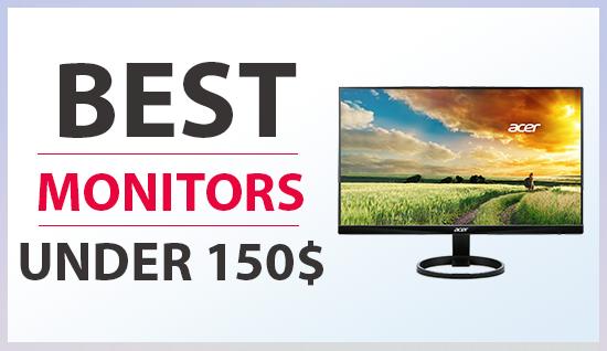 gaming monitors under 150