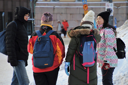 Backpacks Nursing Students
