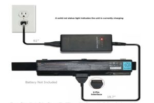 L aptop's Battery is Charged External Power